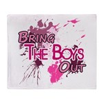 The Boys - Girl's Generation - Throw Blanket
