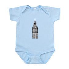 London Big Ben Infant Bodysuit
