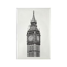 London Big Ben Rectangle Magnet