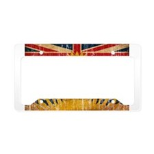 British Columbia Flag License Plate Holder