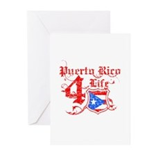 Puerto Rico for life designs Greeting Cards (Pk of