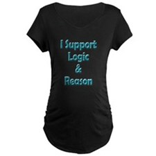 I Support Logic & Reason T-Shirt
