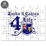 Turks and Caicos Island for life designs Puzzle