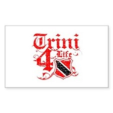 Trinidad and Tobago for life designs Decal