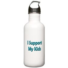 I Support My Kids Water Bottle