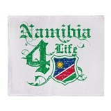Namibia for life designs Throw Blanket