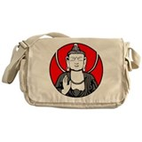 Buddha Soul Window Messenger Bag