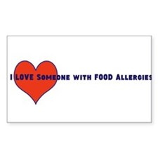 Food Allergy Decal