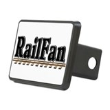 Railfan Rectangular Hitch Cover