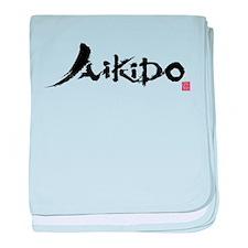 aikido_ut_aikikai baby blanket