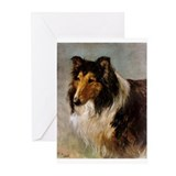 Sinet's Collie Greeting Cards