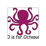 Octopus10.png Square Sticker 3