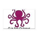 Octopus10.png Rectangle Car Magnet