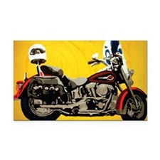 Harley 10 Rectangle Car Magnet