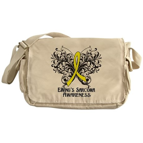 Butterfly Ewing Sarcoma Messenger Bag