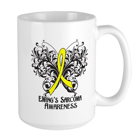 Butterfly Ewing Sarcoma Large Mug