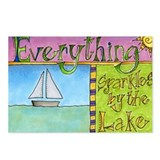 Sparkles by the Lake Postcards (Package of 8)