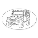 OffRoad Defender 90 Decal