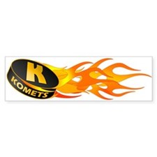 Komets Hockey Bumper Bumper Sticker