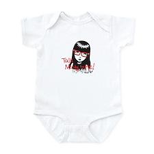 Talk Nerdy to Me Emily Infant Bodysuit
