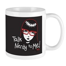 Talk Nerdy to Me Emily Small Mugs