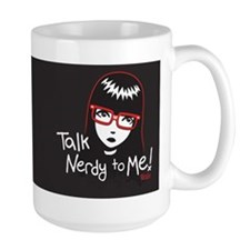 Talk Nerdy to Me Emily Ceramic Mugs