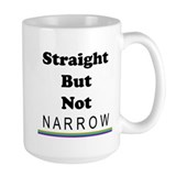 Straight Not Narrow Mug