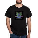 ZentirpZ Independent Radio Logo White Dark T-Shirt