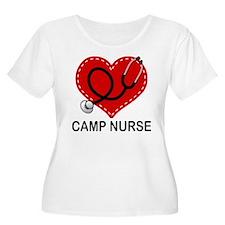 Camp Nurse Heart T-Shirt