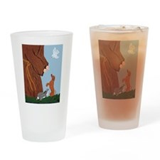 Dachshund And St. Francis Drinking Glass