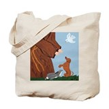 Dachshund And St. Francis Tote Bag