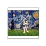 Starry-AussieTerrier2 Square Sticker 3