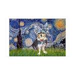 Starry-AussieTerrier2 35x21 Wall Decal