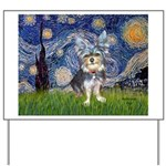 Starry-AussieTerrier2 Yard Sign
