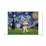 Starry-AussieTerrier2 Car Magnet 20 x 12