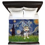 Starry-AussieTerrier2 King Duvet