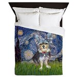 Starry-AussieTerrier2 Queen Duvet