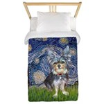 Starry-AussieTerrier2 Twin Duvet