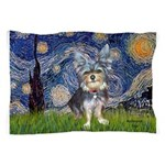 Starry-AussieTerrier2 Pillow Case