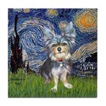 Starry-AussieTerrier2 Tile Coaster