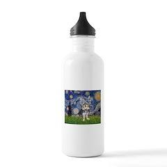 Starry-AussieTerrier2 Water Bottle