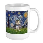 Starry-AussieTerrier2 Large Mug