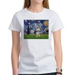 Starry-AussieTerrier2 Women's T-Shirt