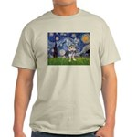 Starry-AussieTerrier2 Light T-Shirt