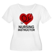 Nursing Instructor Heart T-Shirt