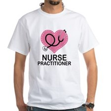 Nurse Practitioner Heart Shirt