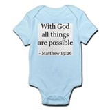 Matthew 19:26 Infant Creeper