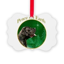 Peace on Earth brindle Ornament