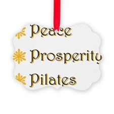 Unique Pilates Ornament