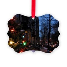 City Lights Christmas Ornament